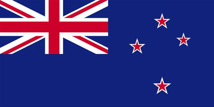 Drapeau Nouvelle Zélande - New Zealand Flag
