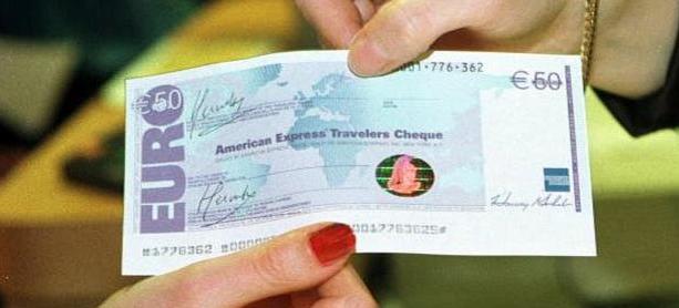 Argent en voyage - Chèque de voyage - Traveller cheques