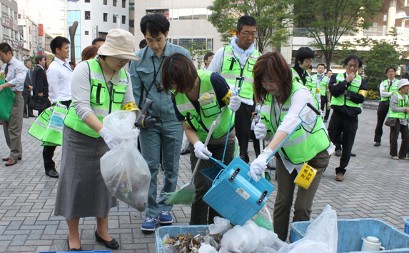 Cleaning festival Tokyo