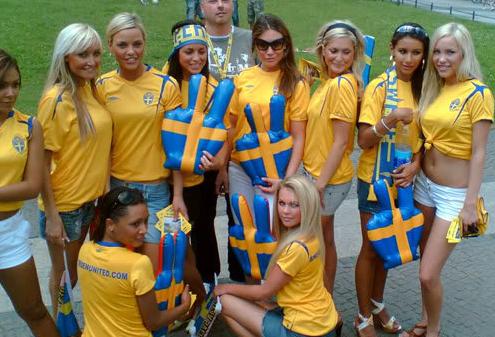 Les plus belles femmes du monde - Suède