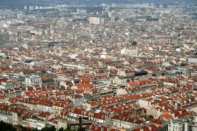 Marseille vue du ciel - que faire a Marseille