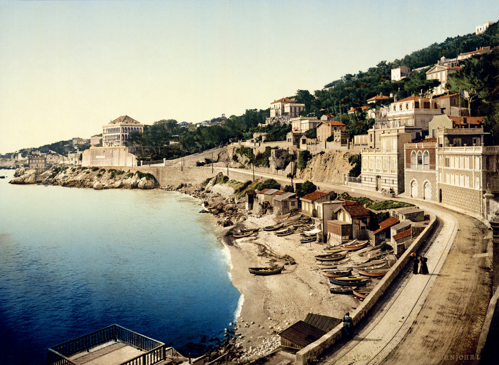 La Corniche - Marseille vintage