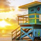 Miami Beach - Couche de soleil