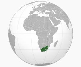 Carte Afrique du Sud - Wikipedia