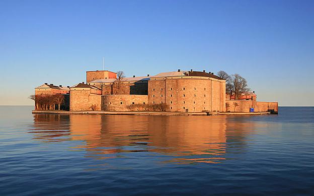 Forteresse de Vaxholm - Fort boyard suedois