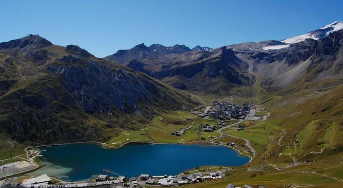 Lac de tignes - Alpes
