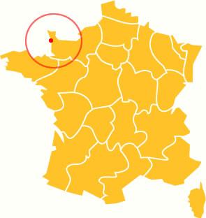 Cotentin carte France
