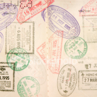 Tampons passeport visa